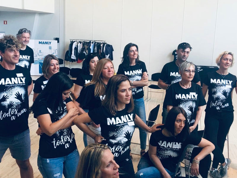 Manly Interlinings Team Building